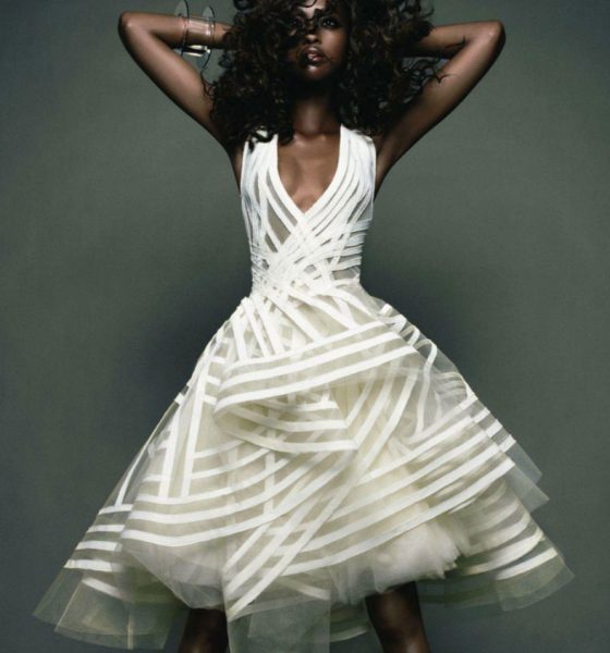 Vogue Japan November 2011 features Nyasha Matohondze