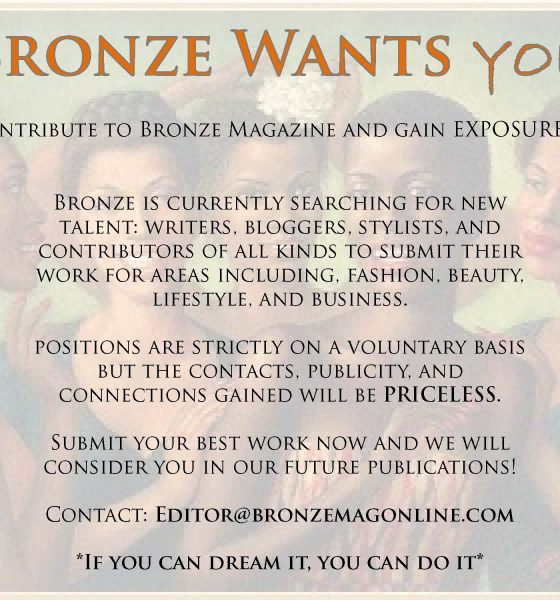 Bronze Wants *You*