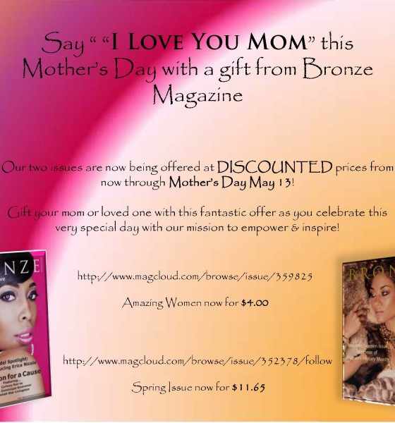 Special Offer- Now Thru Mother's Day!
