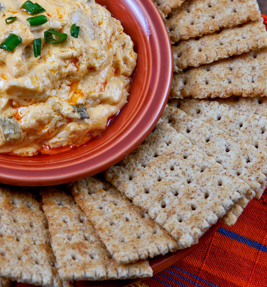 """Layered Buffalo Chicken Dip Recipe: Favorite """"Mom"""" Recipes: A Special Mother's Day Tribute"""