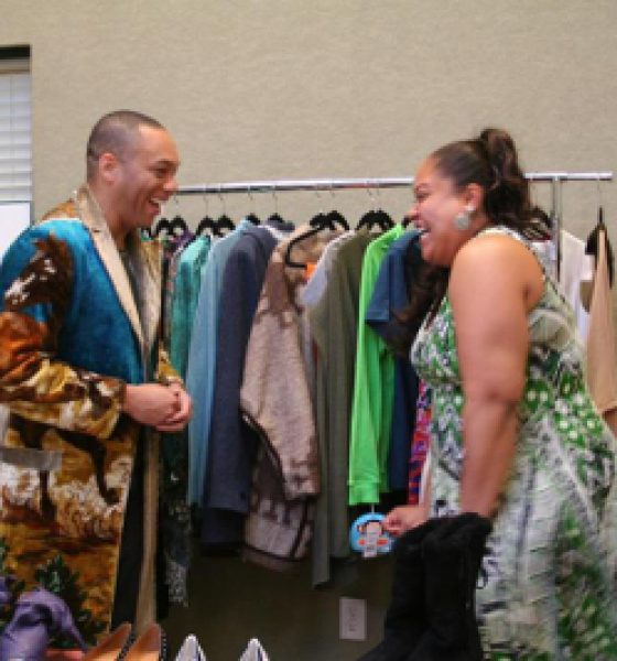 Celebrity Stylist Sam Russell Takes his Gift of Style and Uses it to Bless Others