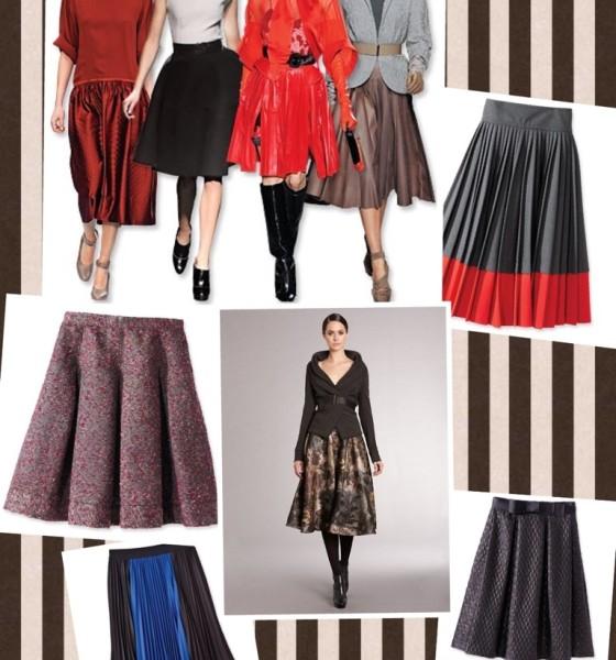 Fall Trend: Full Skirts