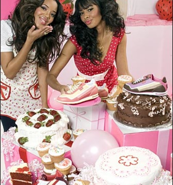 Vanessa and Angela Simmons give us Pastry!