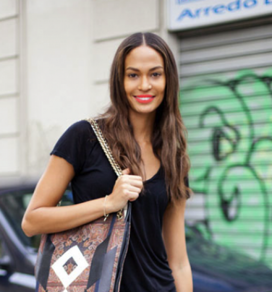 Get the Look: Joan Smalls Casual Chic During Milan Fall Fashion Week 2013