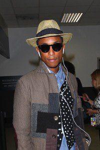 Pharrell Williams At LAX
