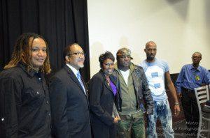 From left: Thomas K. Phillips, Dr Ben Chavis, Maris David, Mikey Jay & Ant Jones, Founder of Oktoberfest