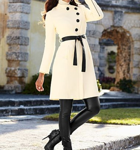Get the Look: Winter White and Black