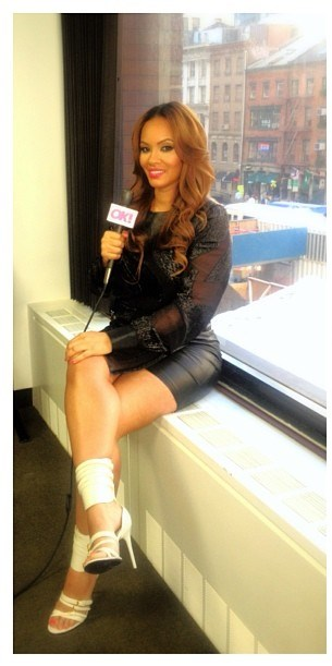 evelyn-lozada-instagram-helmut-lang-eros-fil-coupe-dress-tom-ford-spring-2013-white-leather-buckle-sandals (2)