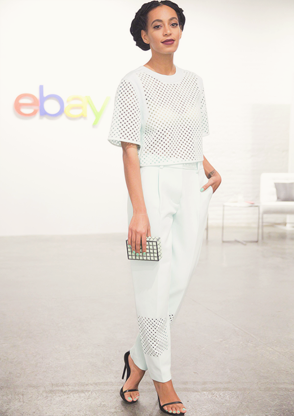 solange-ebay-after-party-3.1-phillip-lim-Solange-wore-blouse-and-pants-by-Phillip-Lim-clutch-by-Kotur-and-high-heels-by-Saint-Laurent (2)