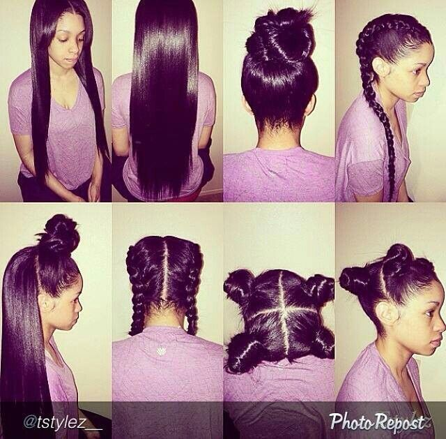 Pics Photos - Versatile Half Sew In And Curling Style