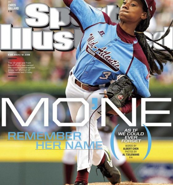 Little League Player Mo'ne Davis Makes History by Landing the cover of Sports Illustrated