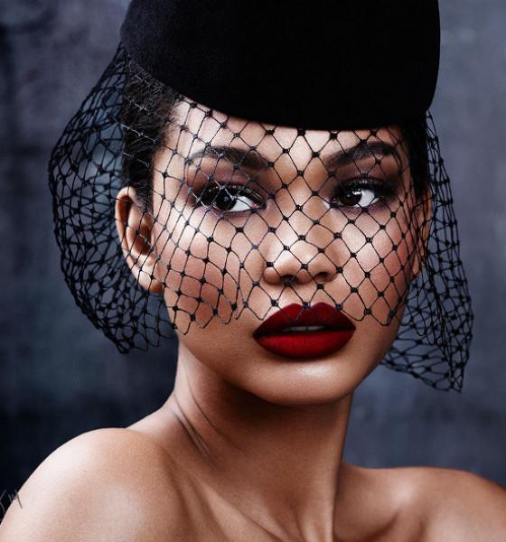 """Model Chanel Iman is """"So Violet"""" for Violet Grey"""