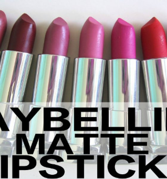 Product Spotlight: Maybelline Color Sensational Creamy Matte Lipsticks