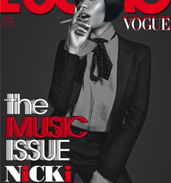 Nicki Minaj Covers L'Uomo Vogue; Talks Bey, Blue Ivy, and More
