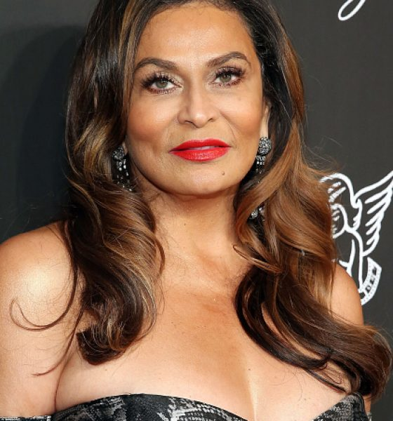 Get the Look: Tina Knowles' Bold Red Lips