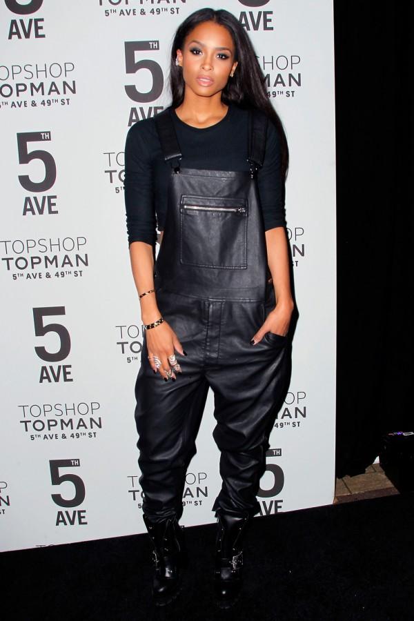 Ciara at Topshop Bash in NYC