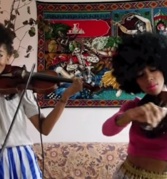 "Chargaux's Beautiful Violin Cover of Taylor Swift's ""Shake It Off"""