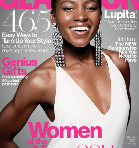 Lupita Nyong'o on the Cover of Glamour