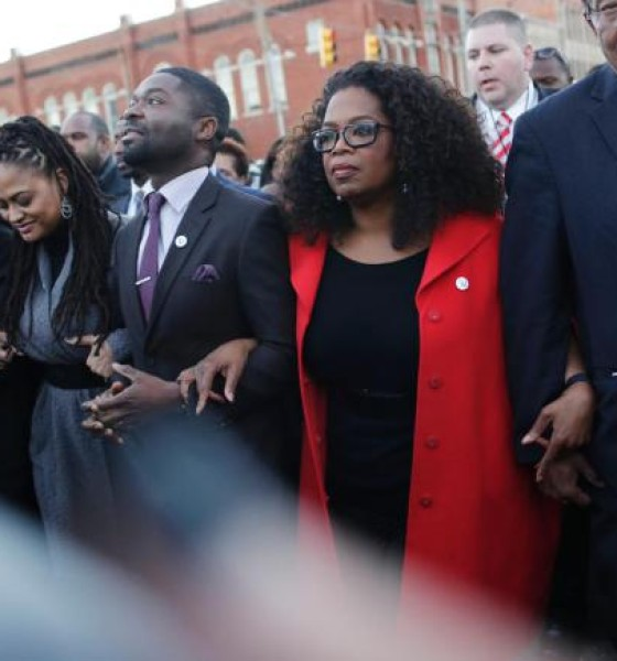 'Selma' Cast, Oprah, and others March in Honor of Martin Luther King, Jr.