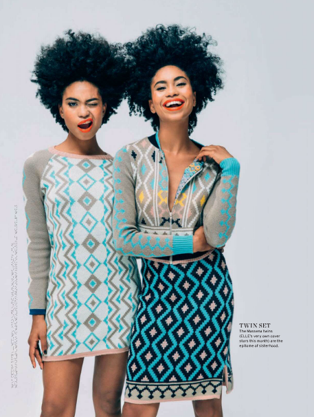 Suzana and Suzane Massena for Elle SA1