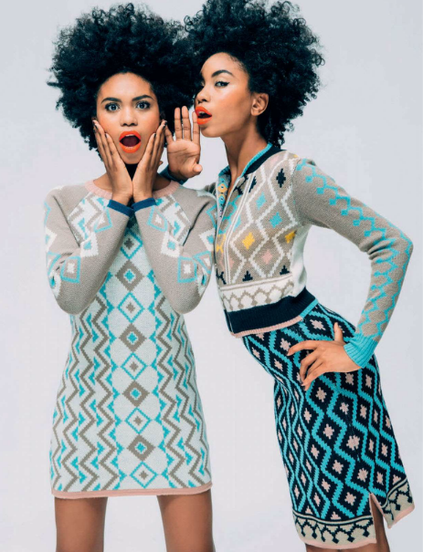 Suzana and Suzane Massena for Elle SA2