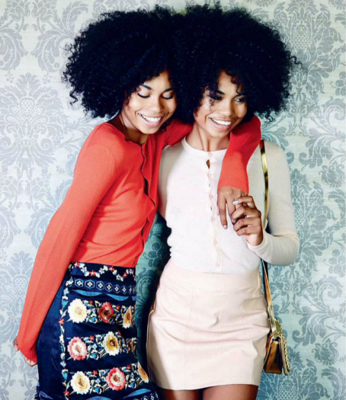 Suzana and Suzane Massena for Elle SA3