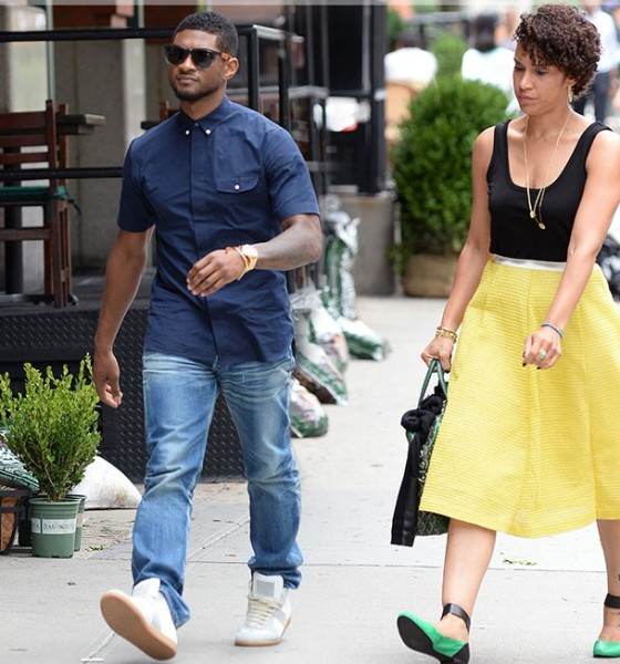 Usher Engaged to Manager Girlfriend Grace Miguel