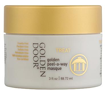 Golden Door golden peel-a-way masque