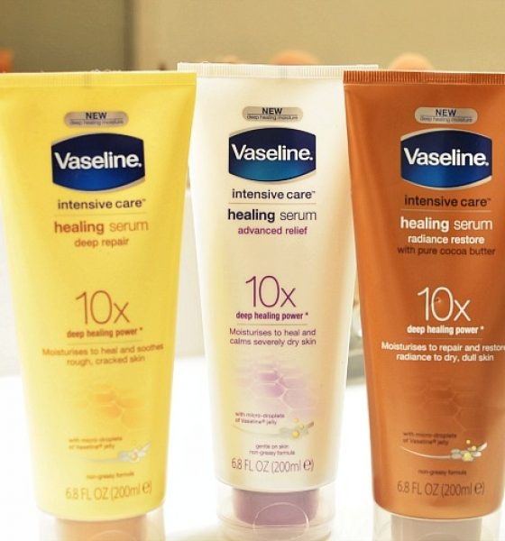 Skincare for the Body…Vaseline Intensive Care Healing Serums