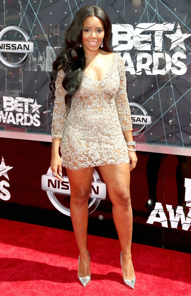 Angela Simmons- BET Music Awards 2015