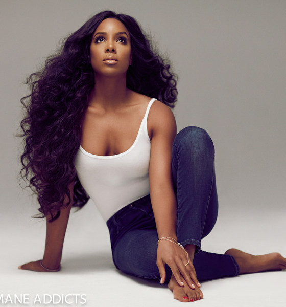 Kelly Rowland Channels Iconic Beauties of the Past in Hairspiration Shoot for Mane Addicts