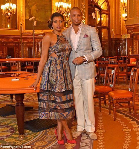 'Empire's' Taraji P Henson and Terrence Howard in Stylish Monte Carlo Photoshoot