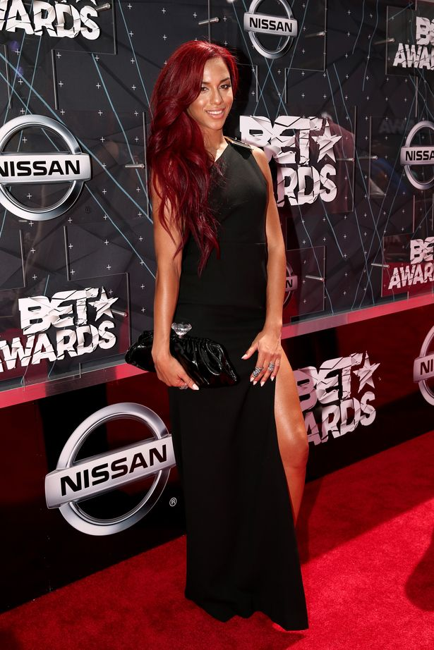 Natalie La Rose- BET Awards 2015