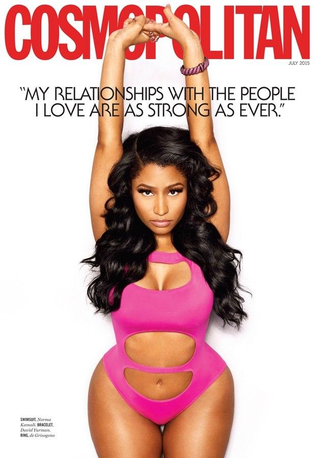 Nicki Minaj for July 2015 Cosmo