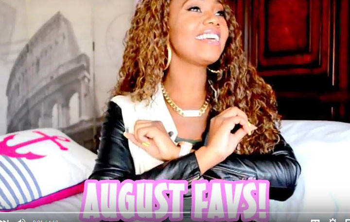 Beauty Vlogger Mia Grissom's August Favorites 2015