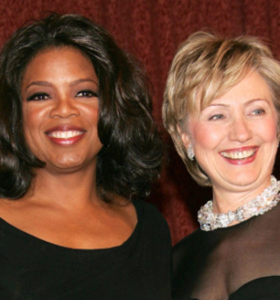 """I'm with her!"" Oprah supports Hillary Clinton in upcoming election!"