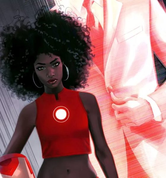 Black is the New Red: Marvel Unveils a New Iron Man