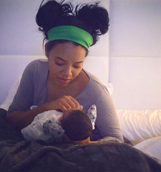 Angela Simmons Shares Beautiful Photo with Her New Baby Boy
