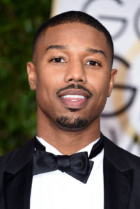 BEVERLY HILLS, CA - JANUARY 10: Actor Michael B. Jordan attends the 73rd Annual Golden Globe Awards held at the Beverly Hilton Hotel on January 10, 2016 in Beverly Hills, California. (Photo by Steve Granitz/WireImage)
