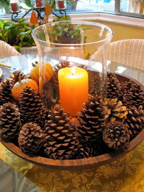 pinecone-centerpieces