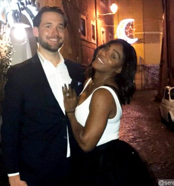 Congratulations to Serena Williams on her Engagement!