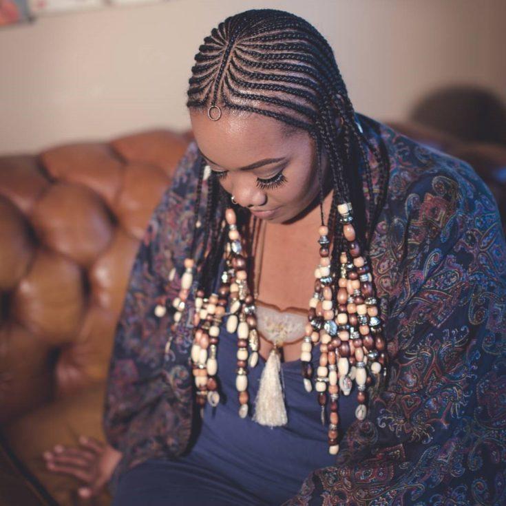 Hair Style Alert Feed In Braids Bronze Magazine