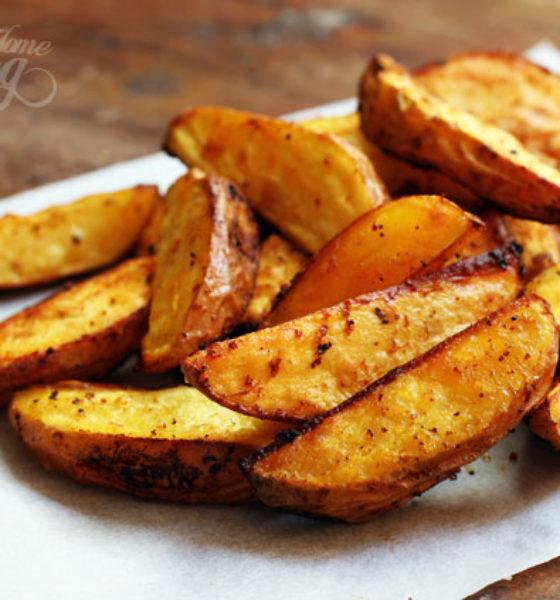 Simple Potato Wedge Recipe