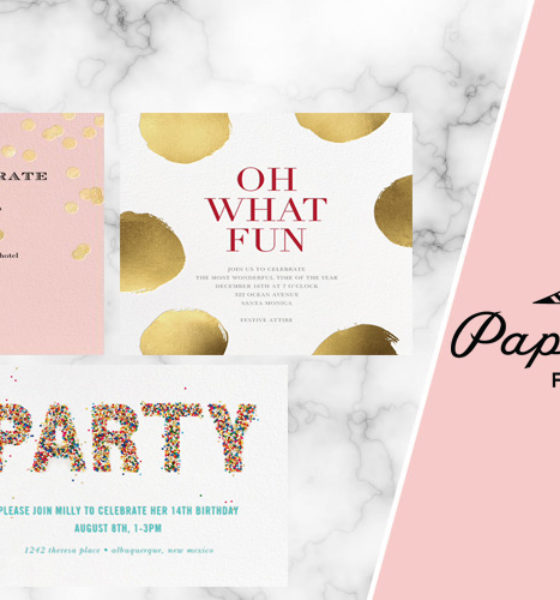 Editor's Favorite Find: Create Beautiful Invitations with a 'Paperless Post'