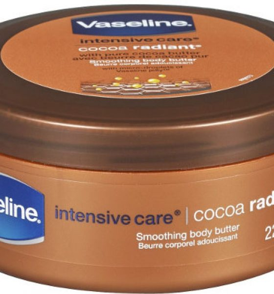 Editor's Pick: Vaseline® Intensive Care Cocoa Radiant Smoothing Body Butter
