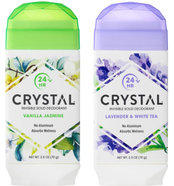 Editor's Pick: Crystal Invisible Solid Deodorant