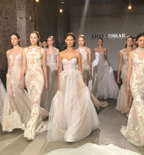 Makeup artist, T. Cooper creates non-bridal makeup looks for Adam Zohar NYBFW Spring 2019