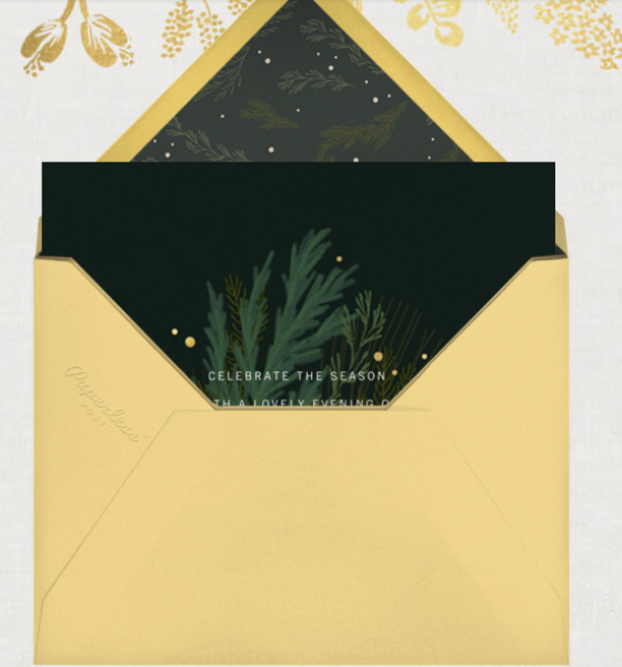 Editor's Favorite Find: Send Holiday Online Invitations with Paperless Post